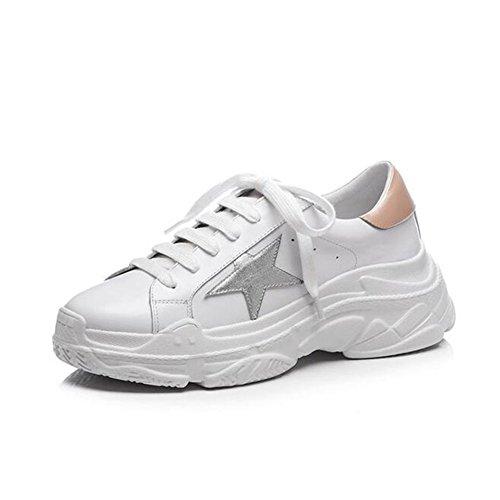 Automne Cuir Printemps Chaussures Simples t Pour 2018 En Et Femmes Baskets Plates Des Basses Avec 7XxqZT7