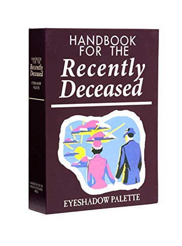 Handbook For The Recently Deceased Beetlejuice Eyeshadow Palette 12 Colors
