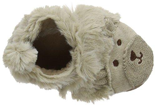 Robeez Fuzzy Bear - Patucos de sintético para niño marrón - marrón