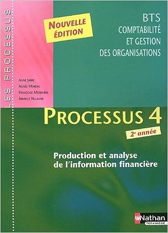 Téléchargez des livres complets Processus 4 BTS CGO 2e année : Production et analyse de l'information financière PDF 2091796107 by Anne Jarry,Agnès Moreau,Françoise Morinière