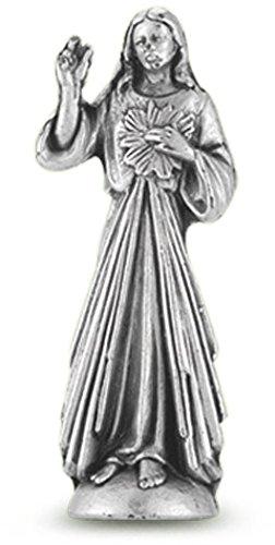 WJ Hirten 1891-123 Divine Mercy Pocket Statue