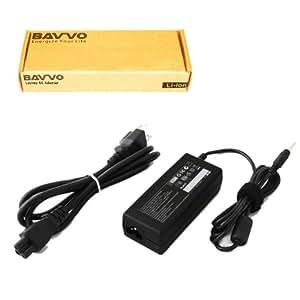 Bavvo HP Pavilion Dv5220us Cargador Adaptador - cable de alimentación europeo incluido 65W Alimentación Adaptador para Ordenador PC Portátil