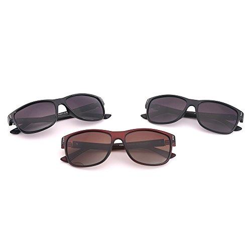 B C Mujer UV Polarizadas para para De Hombre Protección Sol Gafas Aviator 400 qw1AZaF