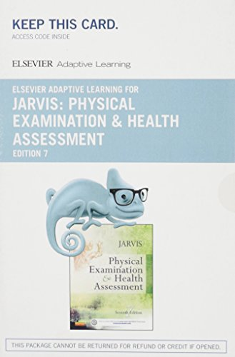 Elsevier Adaptive Learning for Physical Examination and Health Assessment (Access Code), 7e