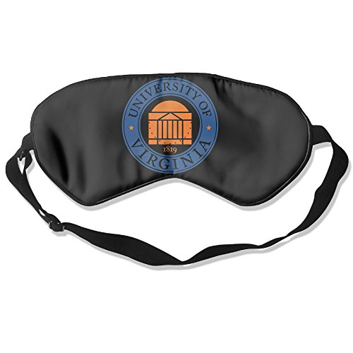 (University Of Virginia Charlottesville UVA Eye Mask Cover Shade Blindfold Sleeping Mask)