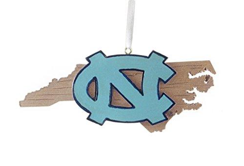 University of North Carolina Hanging State Shaped Ornament by Oxbay (Image #1)