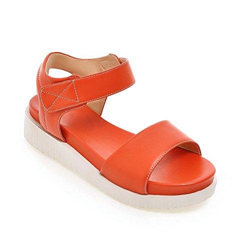 Adee - Sandalias de vestir para mujer naranja