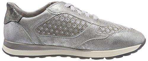 Grey Jana lt Gris Basses Sneakers 23624 Femme gx0qw0BYS