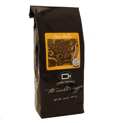 Creme Swiss Water - Coffee Beanery Crème Brulee Flavored Coffee SWP Decaf 12 oz. (Fine)