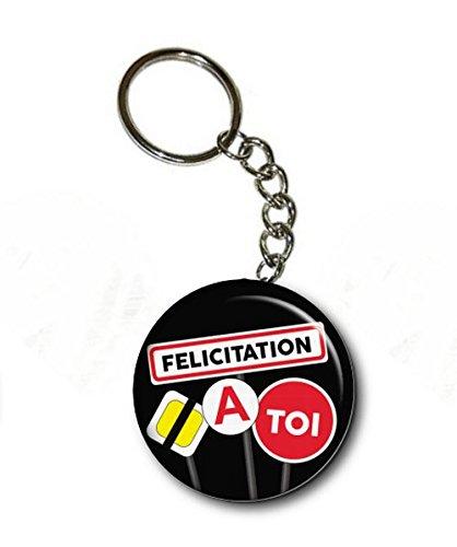 À Permis Clé Toi Angora Félicitation De Conduire Porte qTn8U1