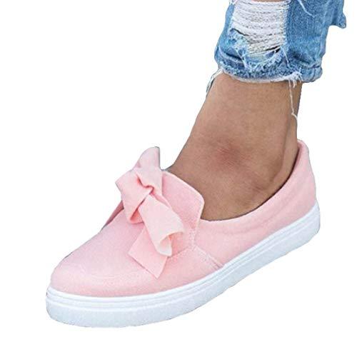 Daim D'été Cuir Rose Pompes Mocassins Mesdames Chaussures Hibote Appartements Conduite Femmes Vacances Confortable Travail wXIPCfWqfO