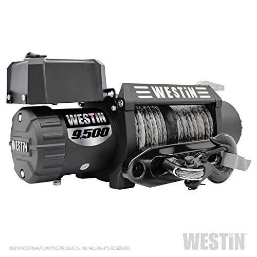 Westin Automotive Products 47-2103 Black Off- Off-Road 9.5 Waterproof Winch