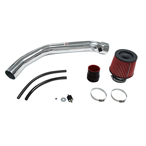 DC Sports CAI5529 Polished Cold Air Intake System with Filter and Installation Hardware