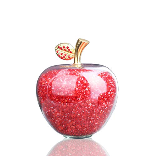 Glass Apple Paperweight - 6