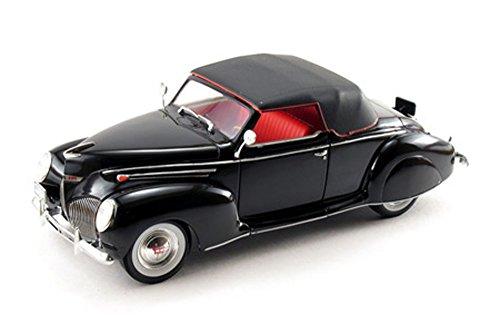 (Signature Models 1939 Lincoln Zephyr 1/18 Black)