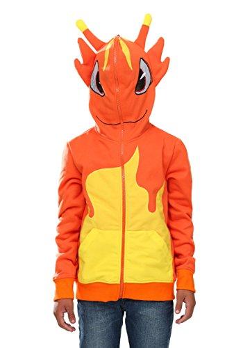 FunCostumes Kids Slugterra Hooded Sweatshirt (Medium) ()
