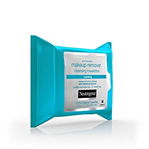 Neutrogena Hydrating Makeup Remover Facial Cleansing Wipes, Value Pack 25 Count, (Pack of 3)