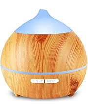 Holan 250ml Essential Oil Diffuser for Bedroom, Nursery, Desk,Home, Office, Yoga Room,or Studio
