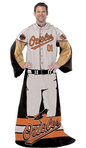 Baltimore Orioles 48''x71'' Comfy Throw - Player Design