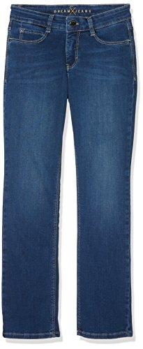 Mac Straigth Pantalones Blau Dream Para D569 blau Mujer wwr5BqE