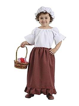 DISBACANAL Disfraz Medieval Bebe niña - Único, 2 años ...