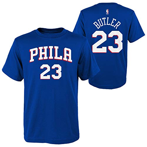 5870de1eefb Outerstuff Jimmy Butler Philadelphia 76ers #23 Youth Name & Number T-Shirt