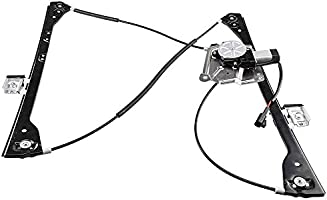 Driver Front Power Window Lift Regulator with Motor Assembly Replacement for 2001-2005 Pontiac Aztek Buick Rendezvous 2002 2003 2004 2005 2006 2007