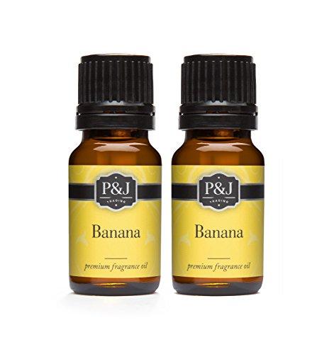 Banana Fragrance Oil - Premium Grade Scented Oil - 10ml - 2-Pack