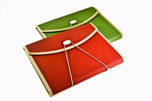 - Pendaflex Expanding PadFolio, Letter Size, 7 Pockets, Green (01144)
