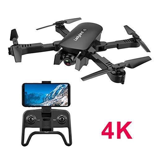 Drones con Camara 4K con Larga Duracion De Batería, Drone FPV HD 2.4 GHz, WiFi App, 150M FPV Distancia, Selfie Drone con…