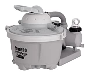 GAME SandPRO 2450 GPH Sand Filter Above Ground Swimming Pool Pump - 1/2 HP