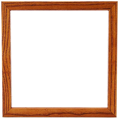 ArtToFrames 8x8 inch Honey on Red Oak Wood Picture Frame, WOM0066-1343-YHNY-8x8