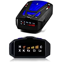 NewK Laser Radar Detector with Voice Alert and Car Speed Alarm System with 360 Degree Detection