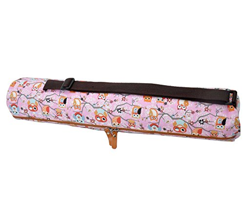 grandes para 186 6 4 cm el Hasta eulen alfombras 0 Calidad 63 x Bolsa yoga x doyouryoga tama de Sunita Muster lona o Pink y de de gimnasia extra F0gwqUxv