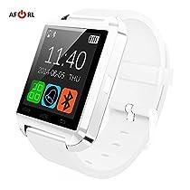 Amazingforless Bluetooth Touch Screen Smart Wrist Watch (U8 - White)