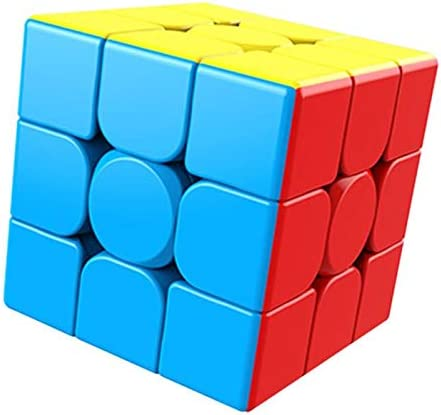 Cubelelo MFJS Meilong 3x3 Stickerless Puzzle Toy Brain Teaser