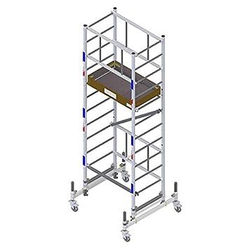 Echafaudage Roulant Aluminium Pliable Compact Et Facile à
