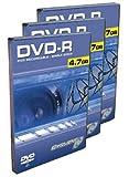 10PK DVDr 2X 4.7GB Media Movie Case 2 Hours of