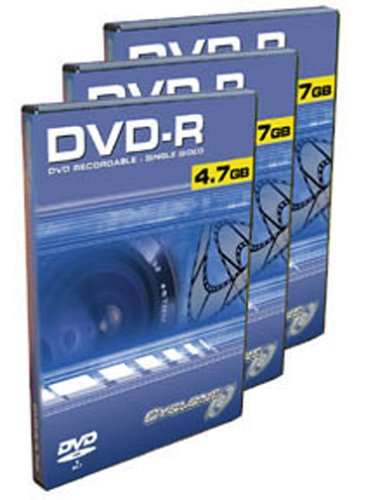 10PK DVDr 2X 4.7GB Media Movie Case High Quality 2 Hours Of Video
