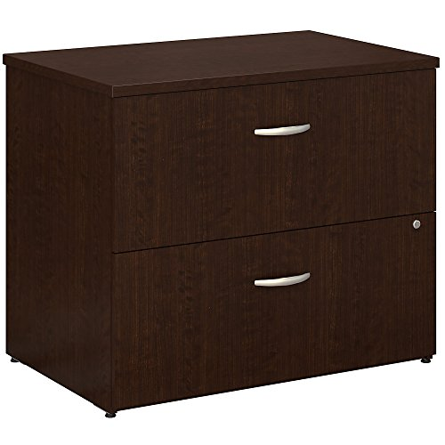 Bush Business Furniture Series C Lateral File Cabinet in Mocha Cherry from Bush