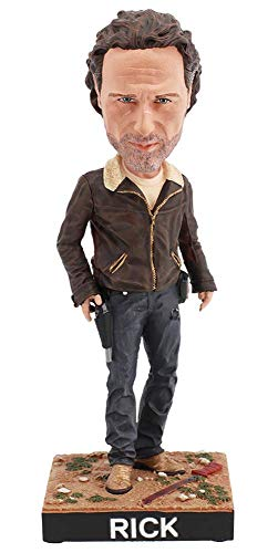 Royal Bobbles The Walking Dead Rick Grimes Collectible Bobblehead Figure -