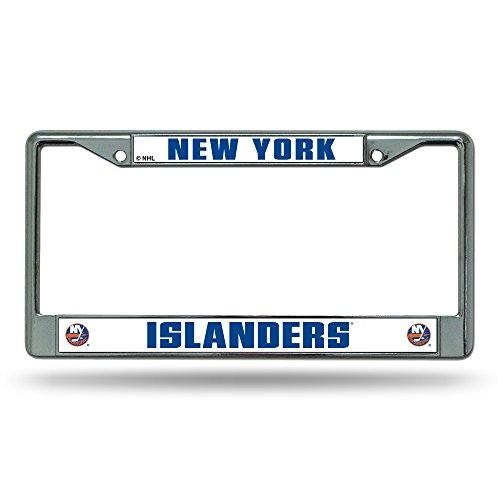 (Rico Industries NHL New York Islanders Standard Chrome License Plate)