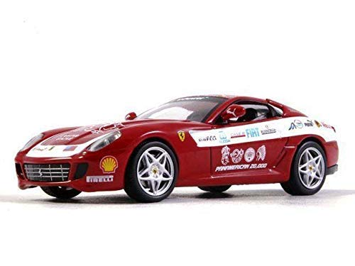 (Ferrari 599 GTB Fiorano Panamerican Tour 1:43 Scale Diecast Model Car 2006 Year)
