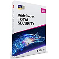 Bitdefender Total Security 2019 Software for 5 Device/1 Year [Digital]