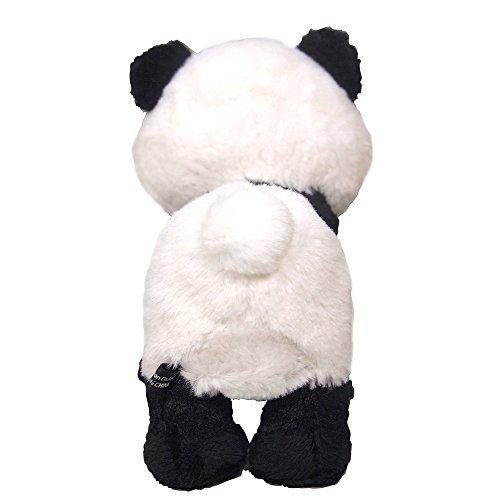 Fluffys stuffed toy panda S height 14cm Sanremon