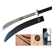 "69.5"" Functional 1060 Carbon Steel Blade Japanese Samurai Naginata Sharp New"