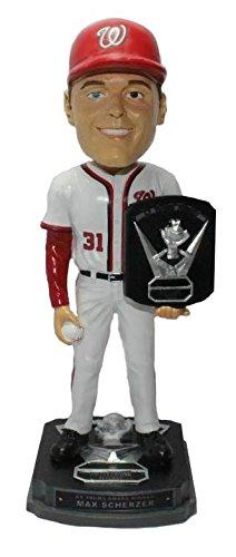 Cy Young Award - Max Scherzer Washington Nationals 2016 NL CY Young Award Series Bobblehead MLB
