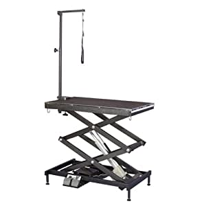 Master Equipment Steel Electric Easy Lift Dog Grooming Table