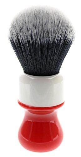 Yaqi R1732 Ferrari Rough Complex White Tuxedo Synthetic Shaving Brush