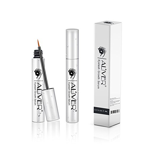 Eyelash Growth Serum, Natural Plant Extracts Serum, Supports Eyelash Growth, Eyebrow Growth, Thinning Lashes, Supports Lash Boost - Perfectly Formulated For Results (5ml)